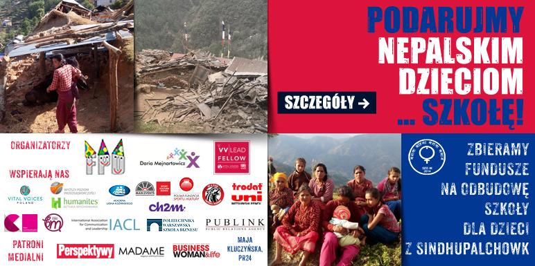 Akcja podaruj nepalskim dzieciom szkołe